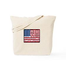 USA Flag Tote Bag