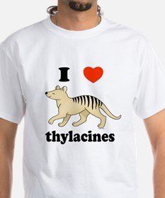 I Love Thylacines Shirt