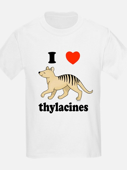 I Love Thylacines T-Shirt