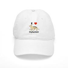 I Love Thylacines Baseball Cap
