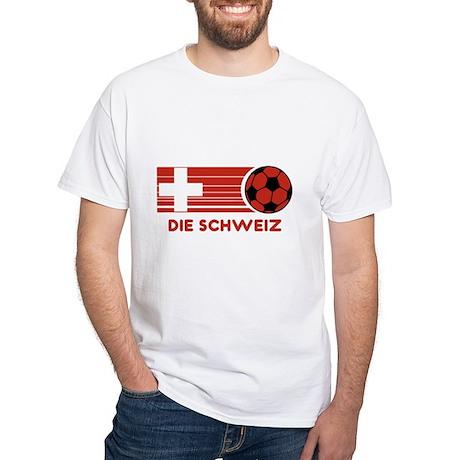 Die Schweiz White T-Shirt