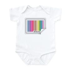 Evolve - Colorful Barcode Infant Bodysuit