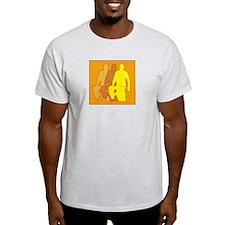 RC CAR SHADOW RACING -  Ash Grey T-Shirt