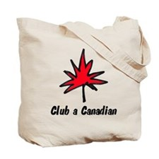 Save a seal, club a Canadian Tote Bag