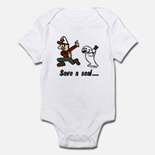 Save a seal, club a Canadian Infant Bodysuit