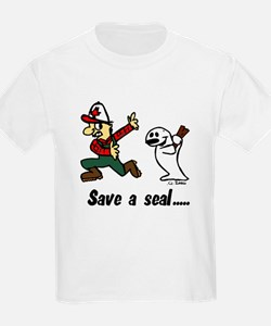 Save a seal, club a Canadian T-Shirt