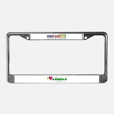 I-L-Y Grandpa License Plate Frame