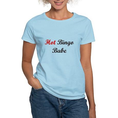 Hot Bingo Babe Women's Light T-Shirt