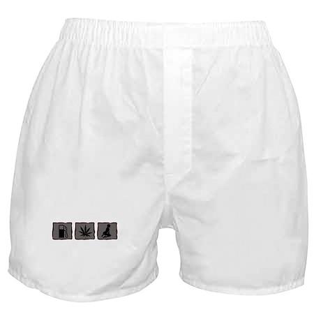 Gas, Grass or Ass Boxer Shorts