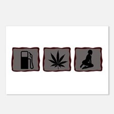Gas, Grass or Ass Postcards (Package of 8)