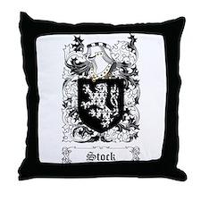 Stock [English] Throw Pillow