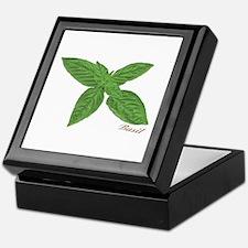 Basil Sprig Keepsake Box