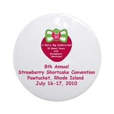Convention logo gear Ornament (Round)