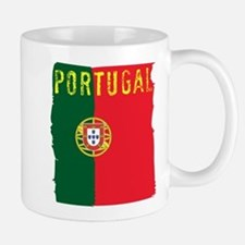 portugal flag Mugs