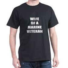 Wife of a Marine Veteran T-Shirt