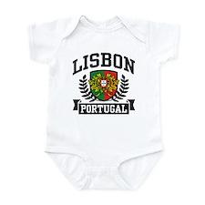 Lisbon Portugal Infant Bodysuit