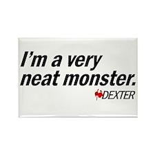 Neat Monster - Dexter Rectangle Magnet