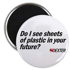 "Sheets of Plastic 2.25"" Magnet (100 pack)"