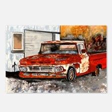 old pickup truck vintage anti Postcards (Package o