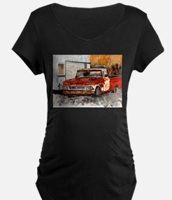 old pickup truck vintage anti T-Shirt