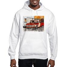 old pickup truck vintage anti Hoodie