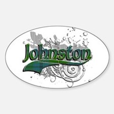 Johnston Tartan Grunge Decal