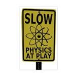 Slow Physics At Play Bumper Sticker