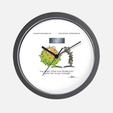 GET HUNGRY! by April McCallum Wall Clock