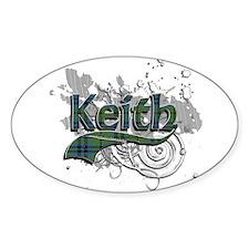 Keith Tartan Grunge Decal
