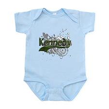 Kennedy Tartan Grunge Infant Bodysuit