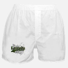 Kennedy Tartan Grunge Boxer Shorts