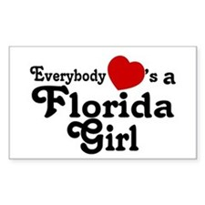 Everybody Hearts a FL Girl Decal