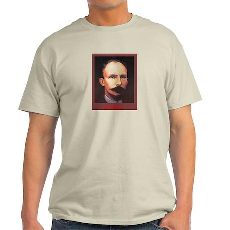Jose Marti Exilio Ash Grey T-Shirt