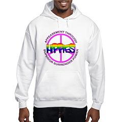 Anti Liberal Hippies Hoodie