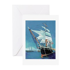 Star of India by Riccoboni Greeting Cards (Pk of 2