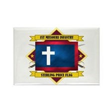 1st Missouri Infantry Rectangle Magnet