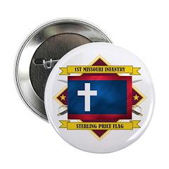 """1st Missouri Infantry 2.25"""" Button"""