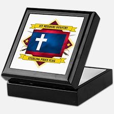 1st Missouri Infantry Keepsake Box