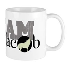 Team Jacob Howling Wolf Mug