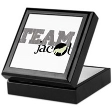 Team Jacob Howling Wolf Keepsake Box