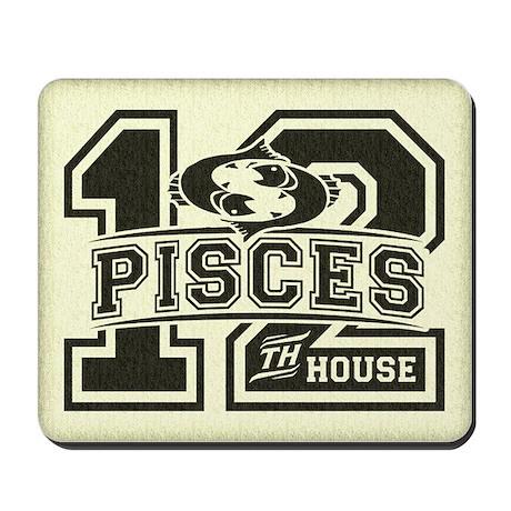 Pisces Twelfth House Mousepad
