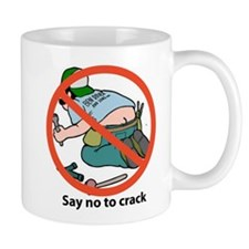 SAY NO TO CRACK Small Mug