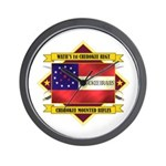 1st Cherokee Regiment Wall Clock