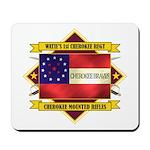 1st Cherokee Regiment Mousepad