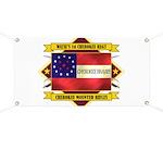 1st Cherokee Regiment Banner