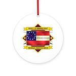 1st Cherokee Regiment Ornament (Round)