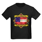 1st Cherokee Regiment Kids Dark T-Shirt