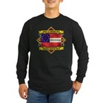 1st Cherokee Regiment Long Sleeve Dark T-Shirt