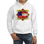 1st Cherokee Regiment Hooded Sweatshirt