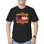 1st Cherokee Regiment Men's Fitted T-Shirt (dark)